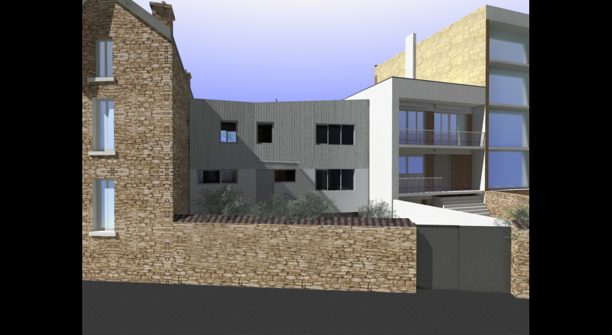 Maison neuve BBC à Meudon