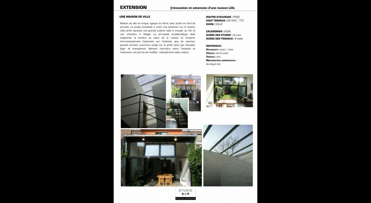 extension maison nord lille ventana blog. Black Bedroom Furniture Sets. Home Design Ideas