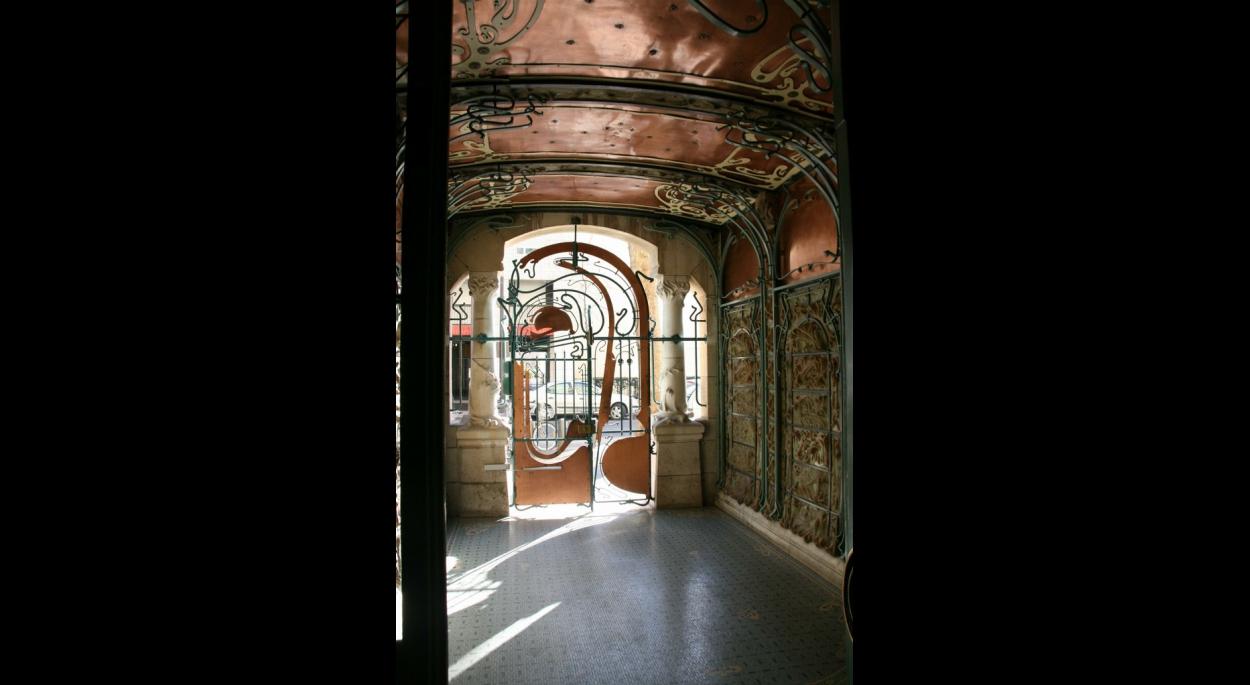 Castel Béranger - Vue du Hall restauré