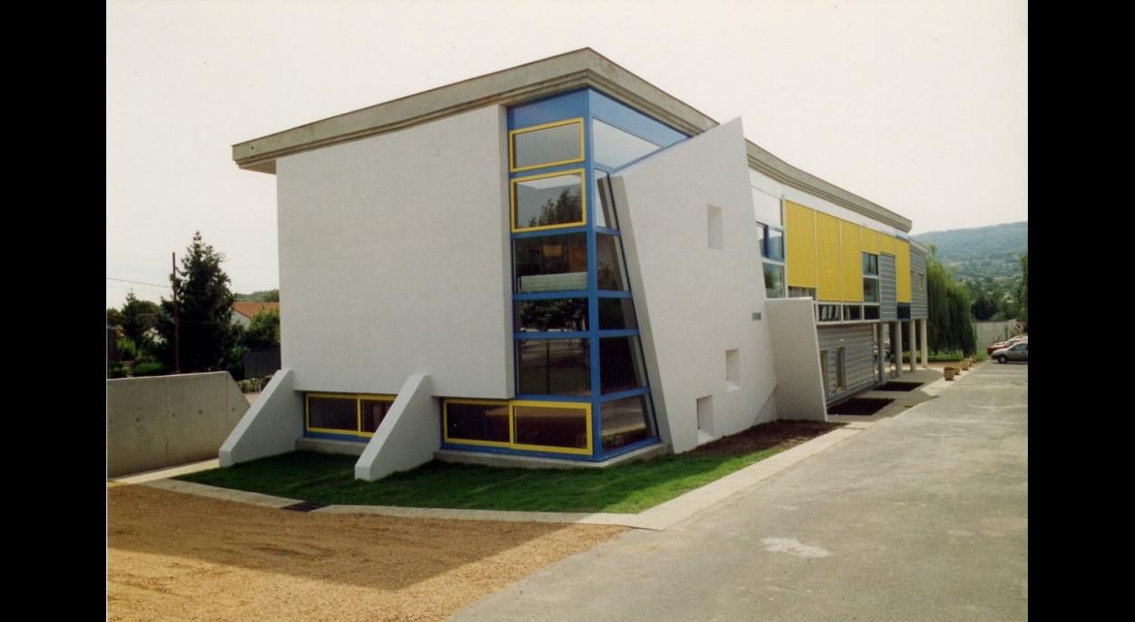 college st joseph michel gevaudan architecte d p l g. Black Bedroom Furniture Sets. Home Design Ideas