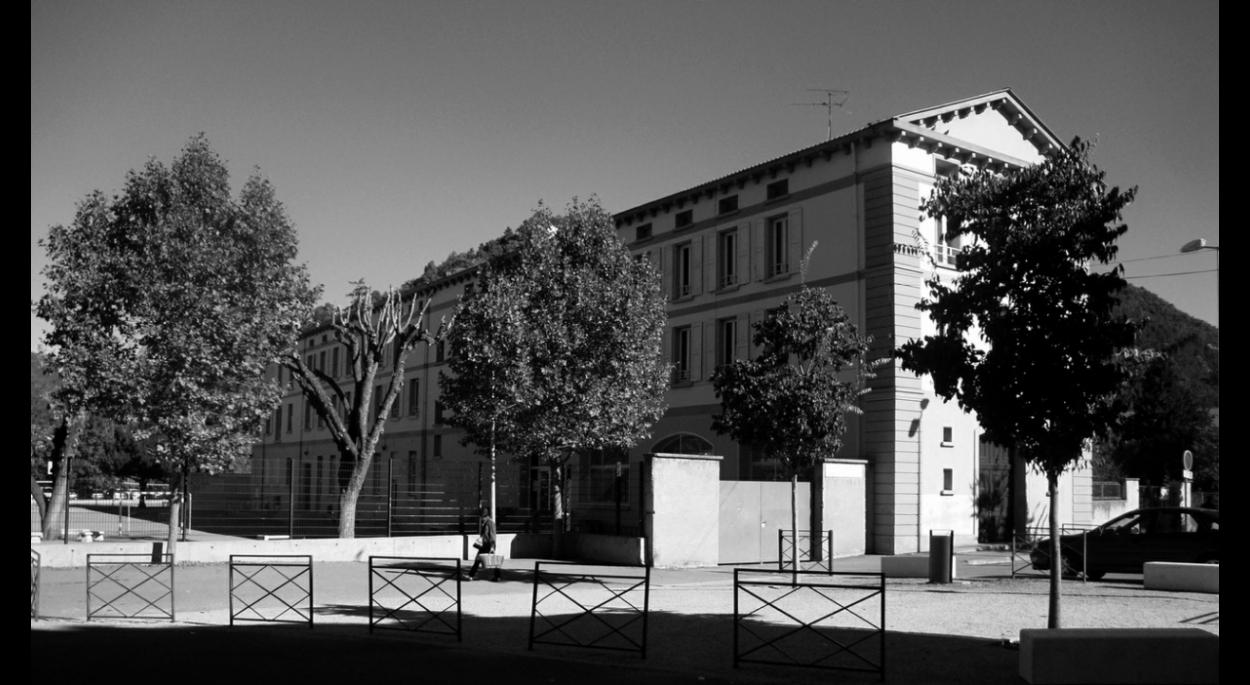 existant concours renovation et extension du college maria borrely architecte