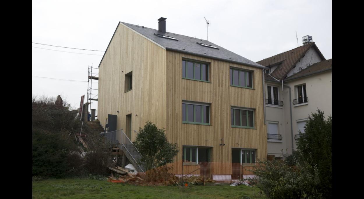 Extension et Surélévation en ossature bois