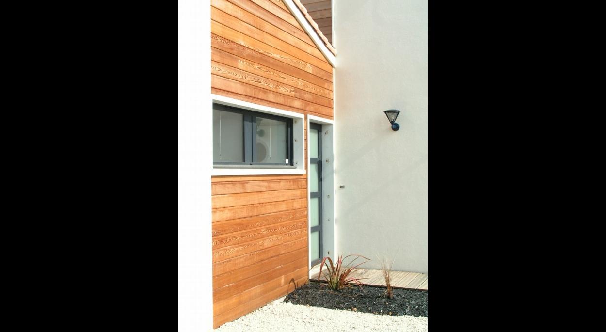 b2- bois et blanc contemporain | aa n.lambert maisons individuelles