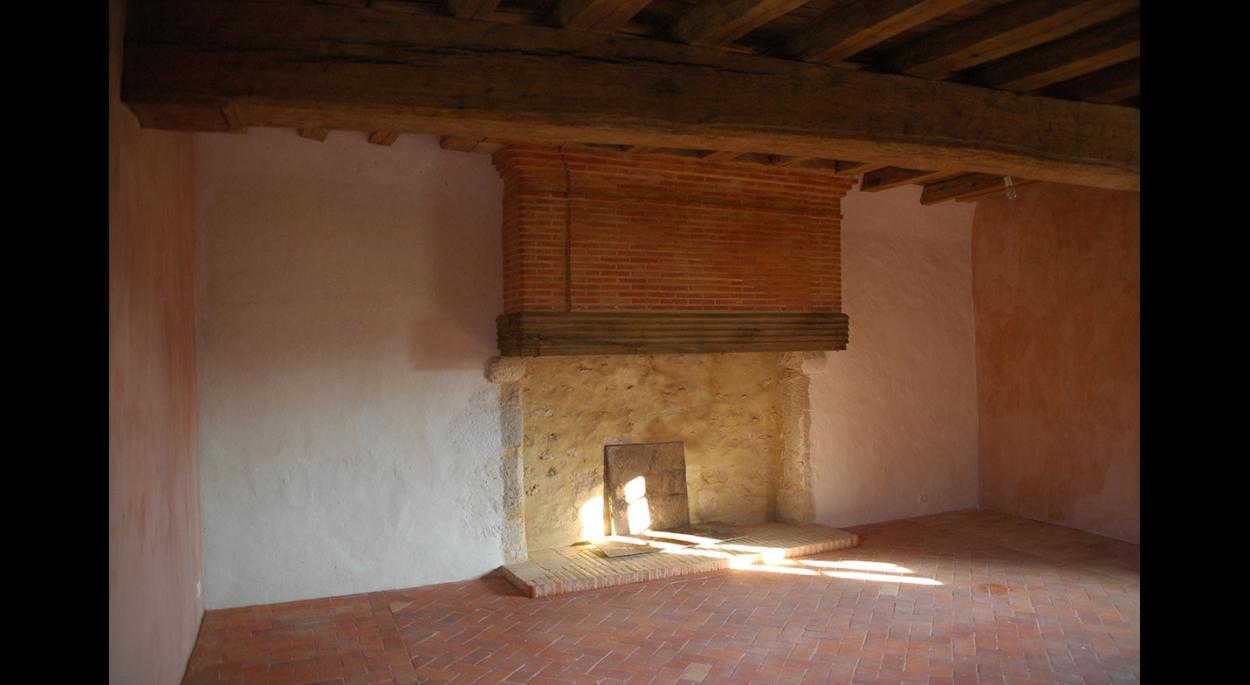 Rémi TURC architecte Château-Thierry Reims Épernay – rénovation maison XVIIe siècle, projet chambre