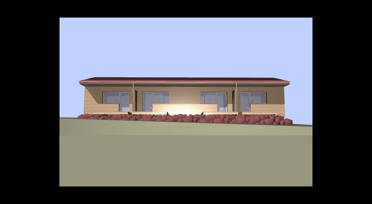 vu 3D du projet