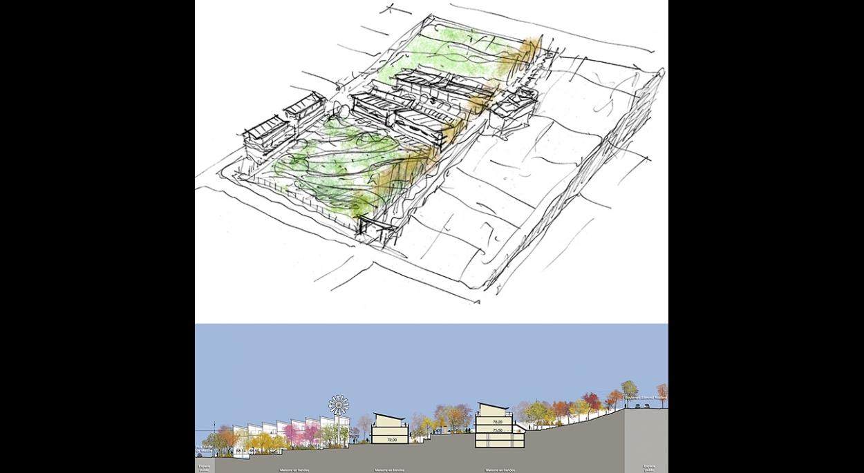 Un Eco Quartier A Rueil Malmaison A Christo Foroux Groupe Paribiotop Ordre Des Architectes