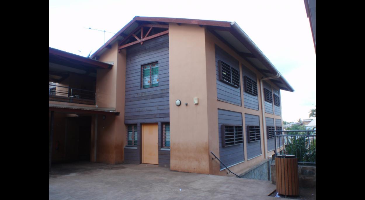 groupe scolaire de Koungou (20 classes) - vue d'un bloc primaire