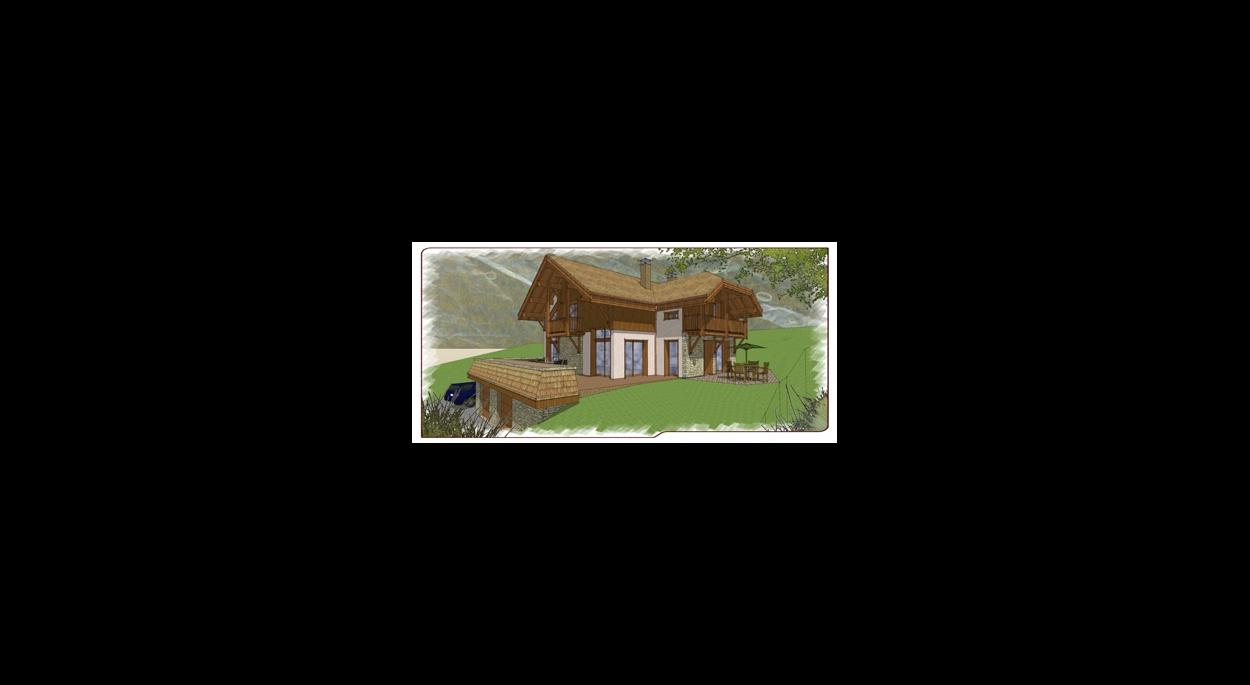 Habitat de montagne - Construction dans la pente
