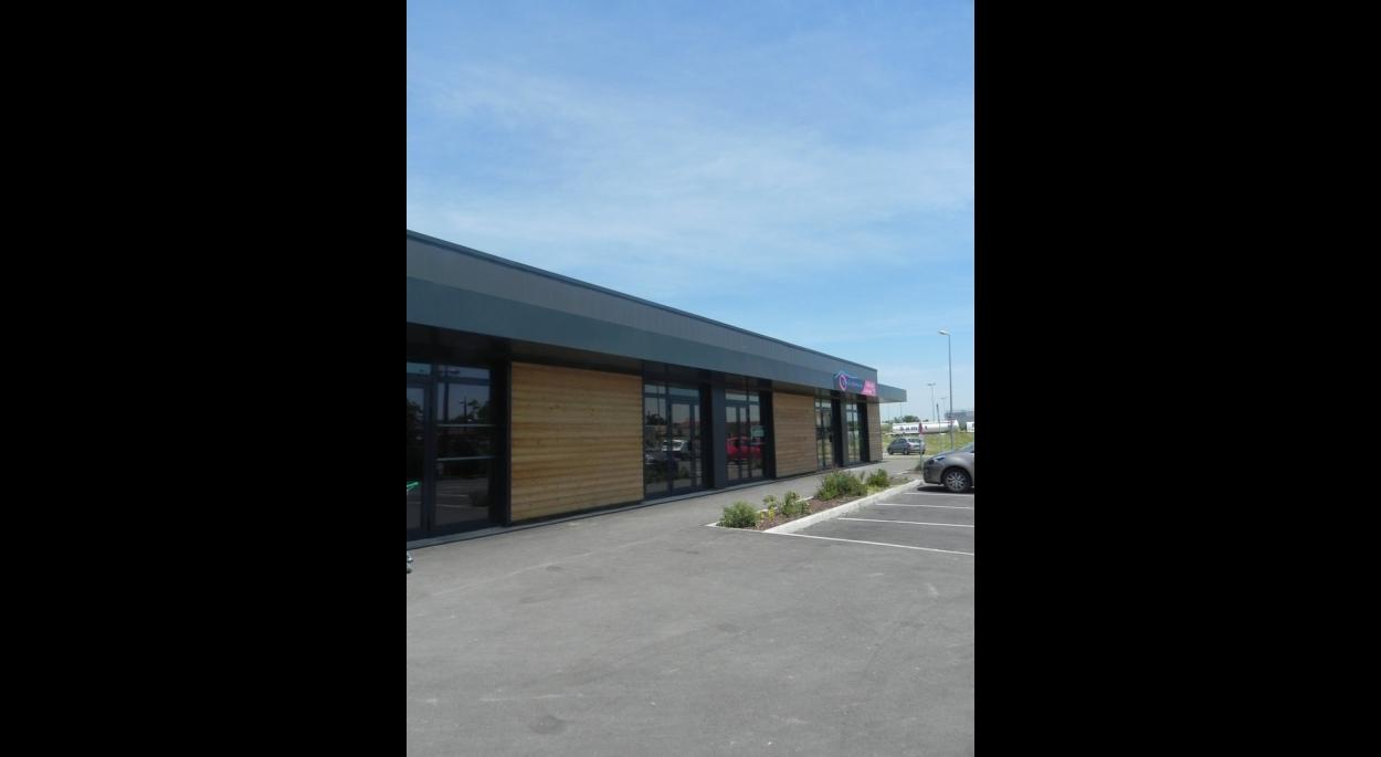 habillage des façades bois et métal