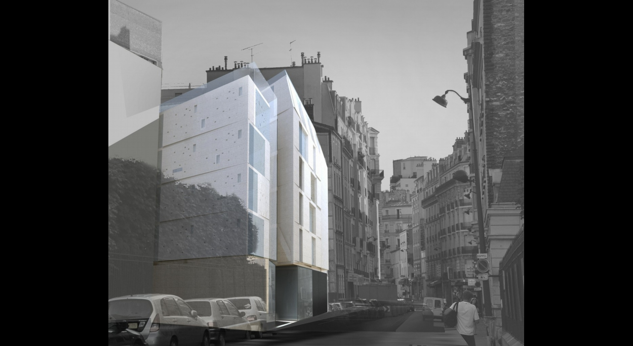 Construction immeuble de logements Paris 15