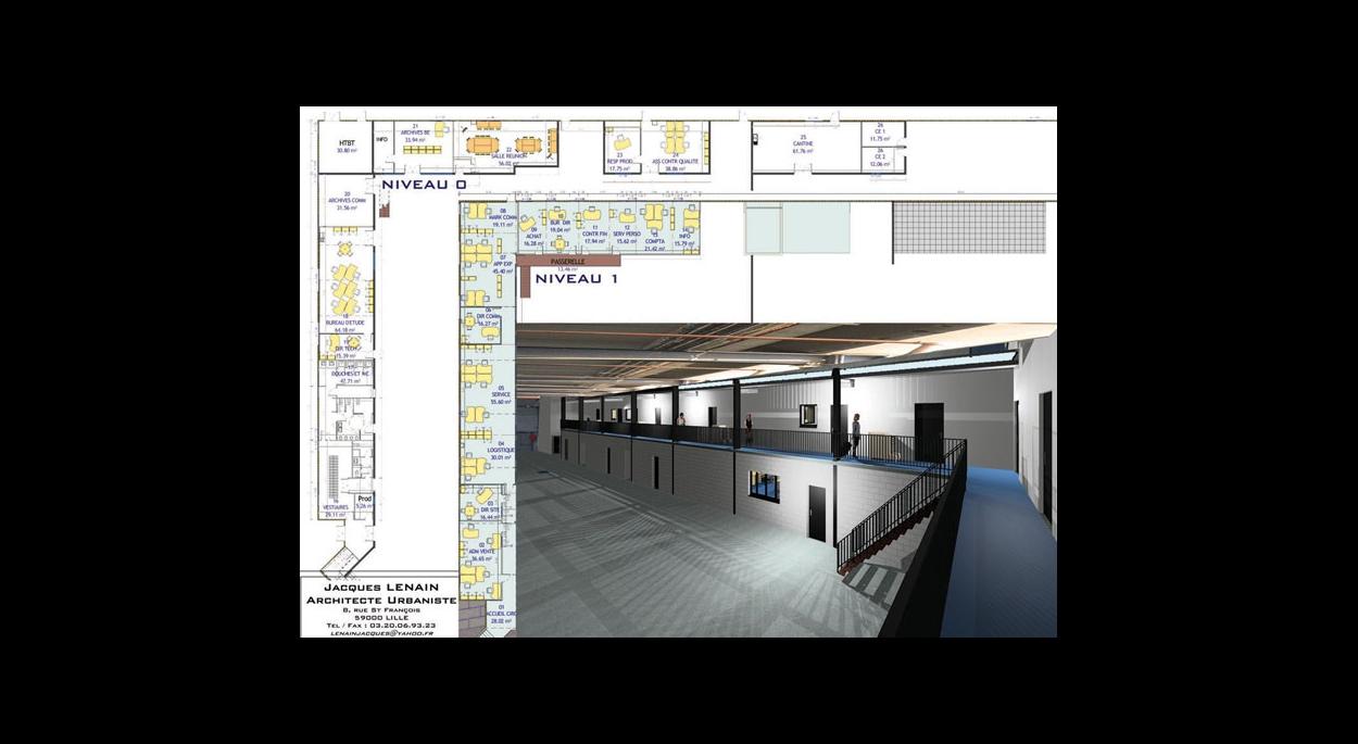 Ingersoll Rand Amenagement Et Renovation De 830 M De Bureaux