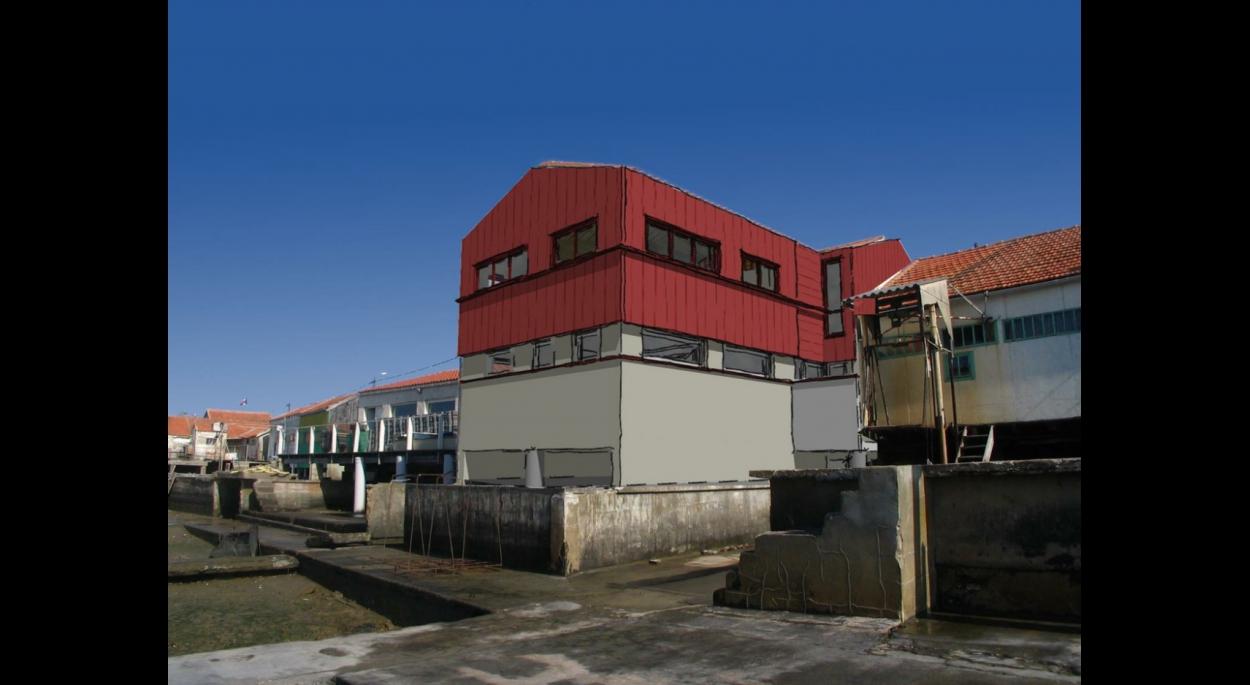 Rénovation de cabane en cabinet de Kinésithérapie