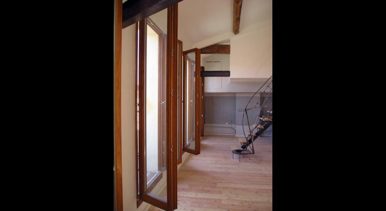 renovation et extension d'un appartement marseille benoit sejourne architecte