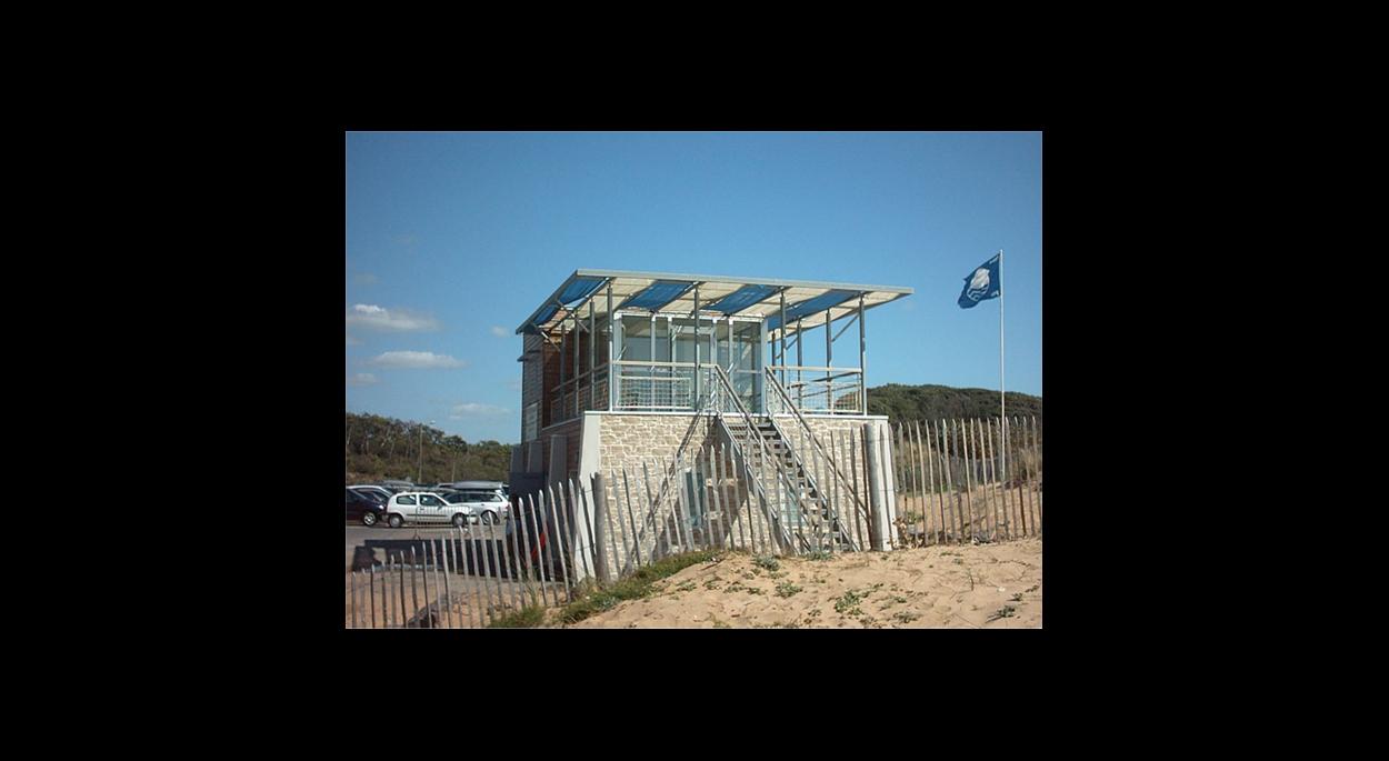 LONGEVILLE SUR MER CENTRE DE SECOURS ALP Architecture sarl , Philippe LEBOURG ARCHITECTE