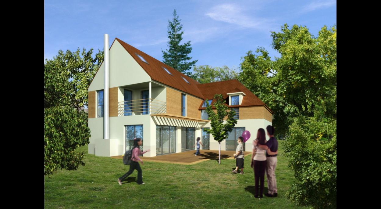 maison à bougival | cassan sébastien, architecte d.p.l.g.