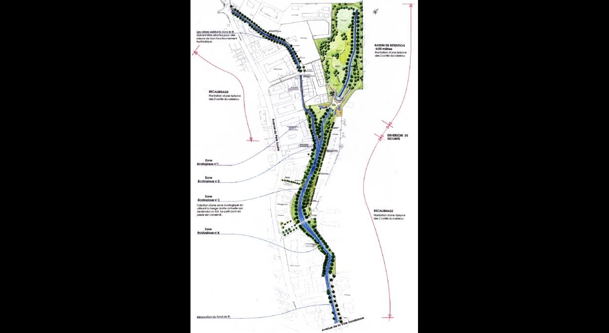 Maitrise D Oeuvre Montpellier bassin de rétention de la colombière | olivier kauffmann