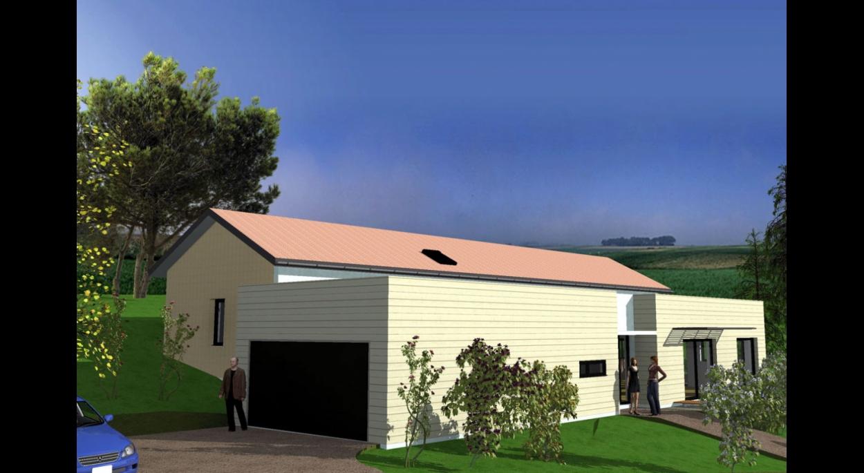 Maison à Monfaucon - vue générale