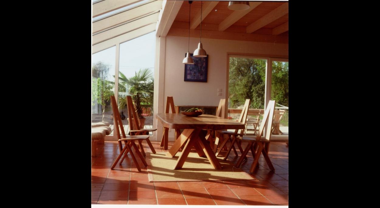 maison ossature bois poteau poutre solaire passive alsace bas-rhin
