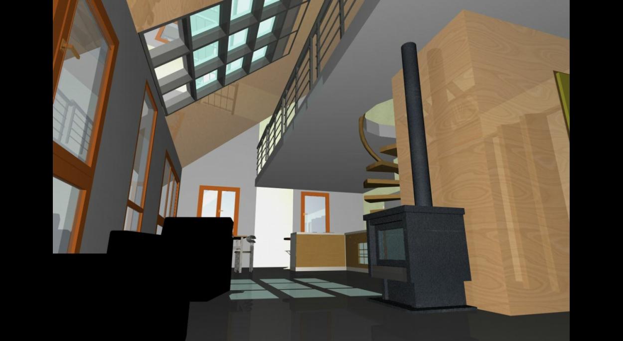 Architecture Eric Agro intérieur