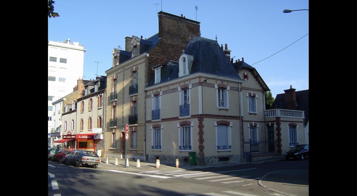 Immeuble de 8 logements rue Aristide Briand Façade sud