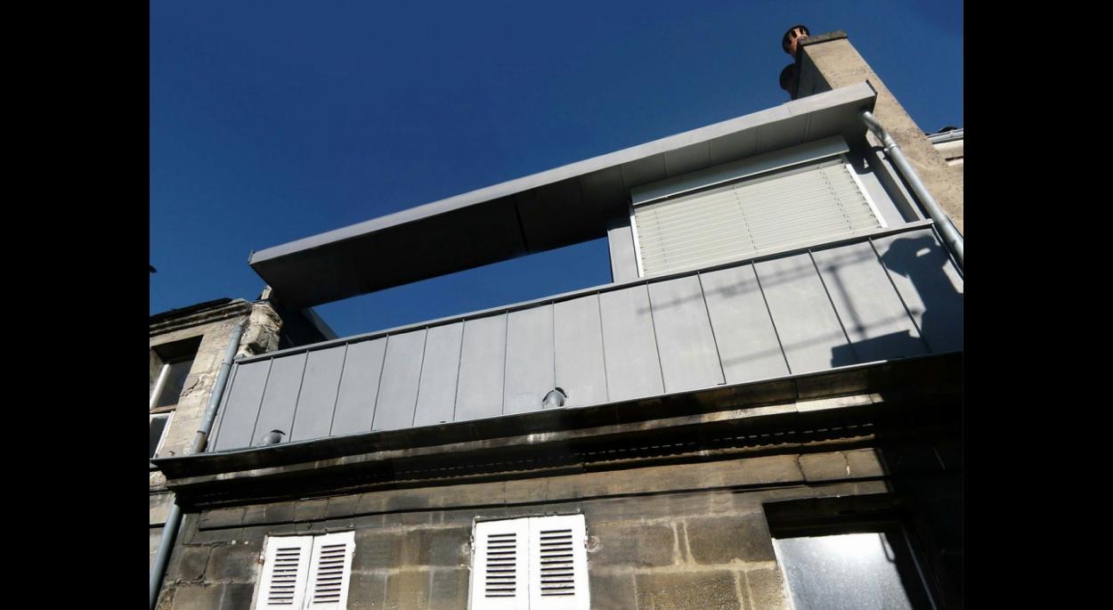 Surélévation Bordeaux surélévation immeuble - bordeaux | annabelle eudeline | bordeaux