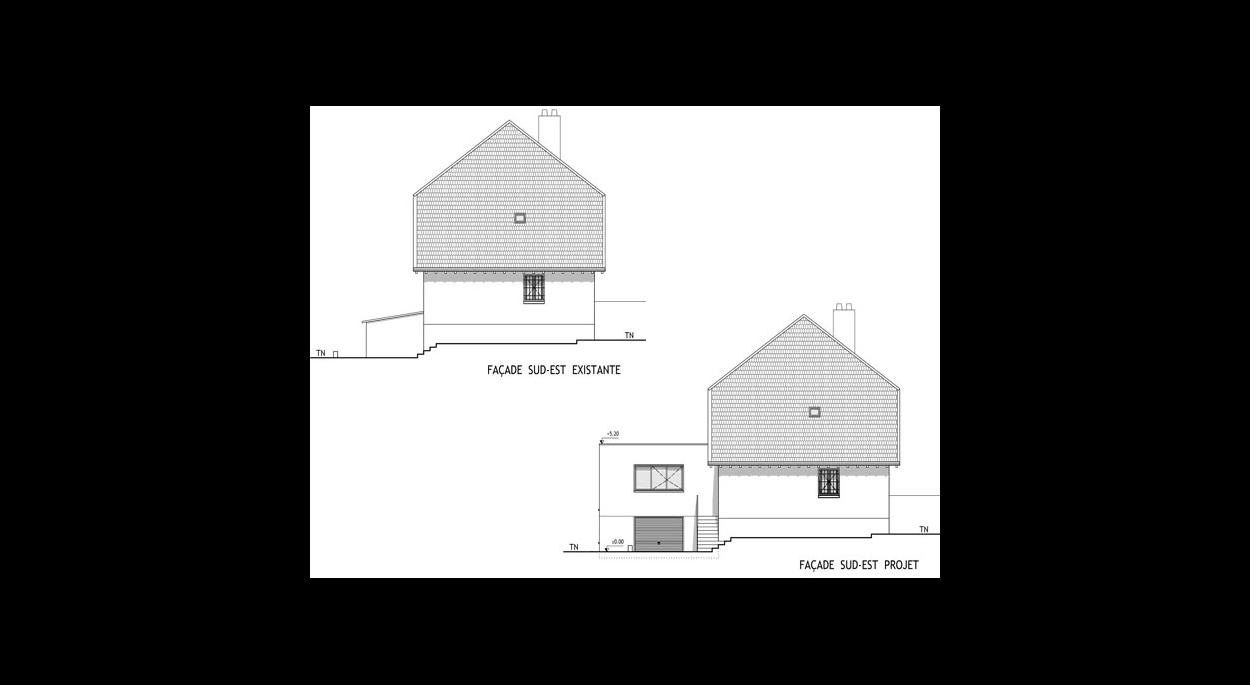 Architecte Tassin La Demi Lune extension d'une maison à tassin-la-demi-lune | assari-cellier