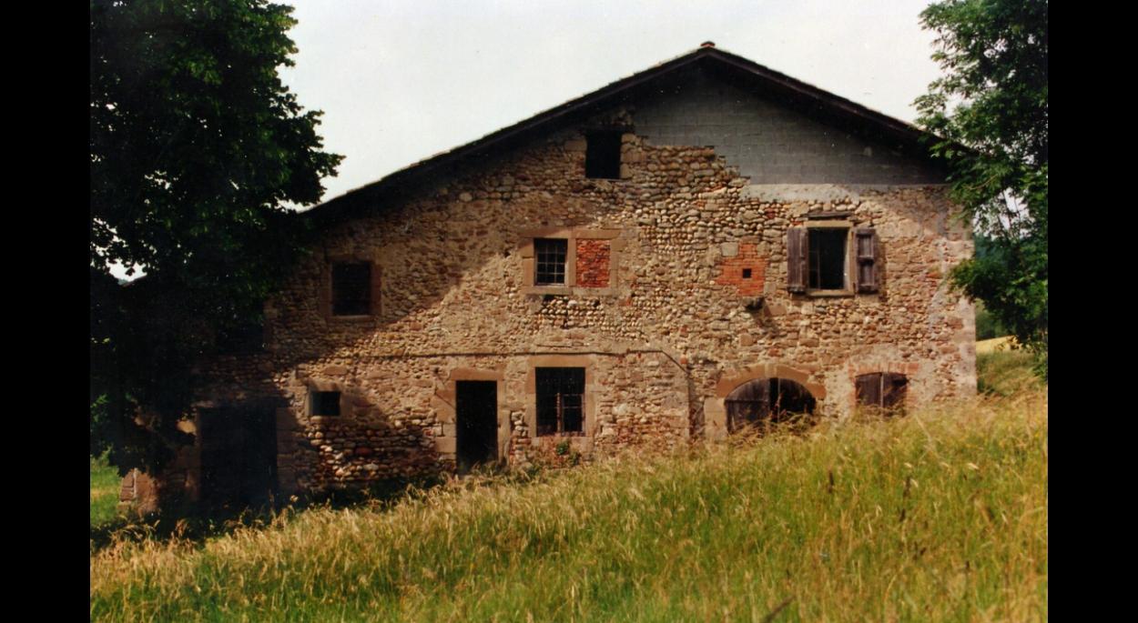Façade avant travaux -  Maison Poilroux