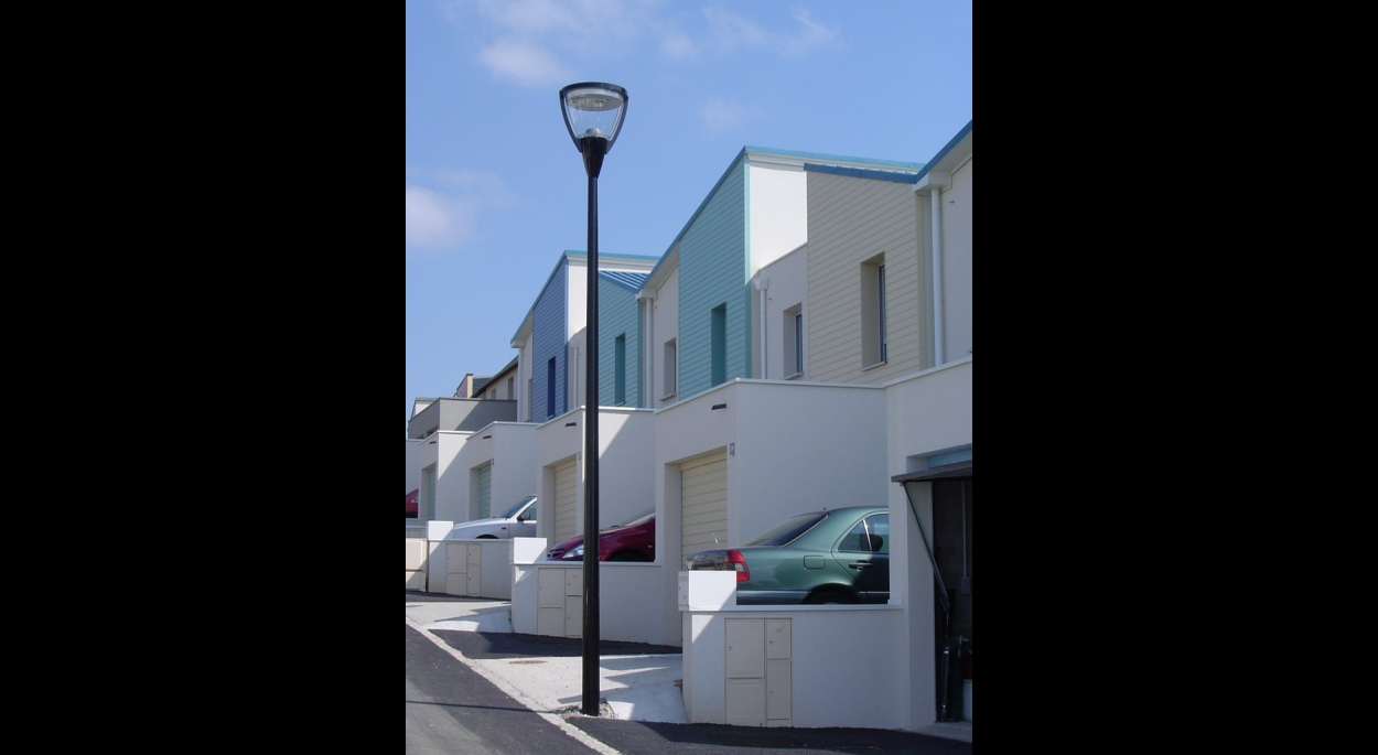 Les jasmins - 7 maisons individuelles - Façade Nord