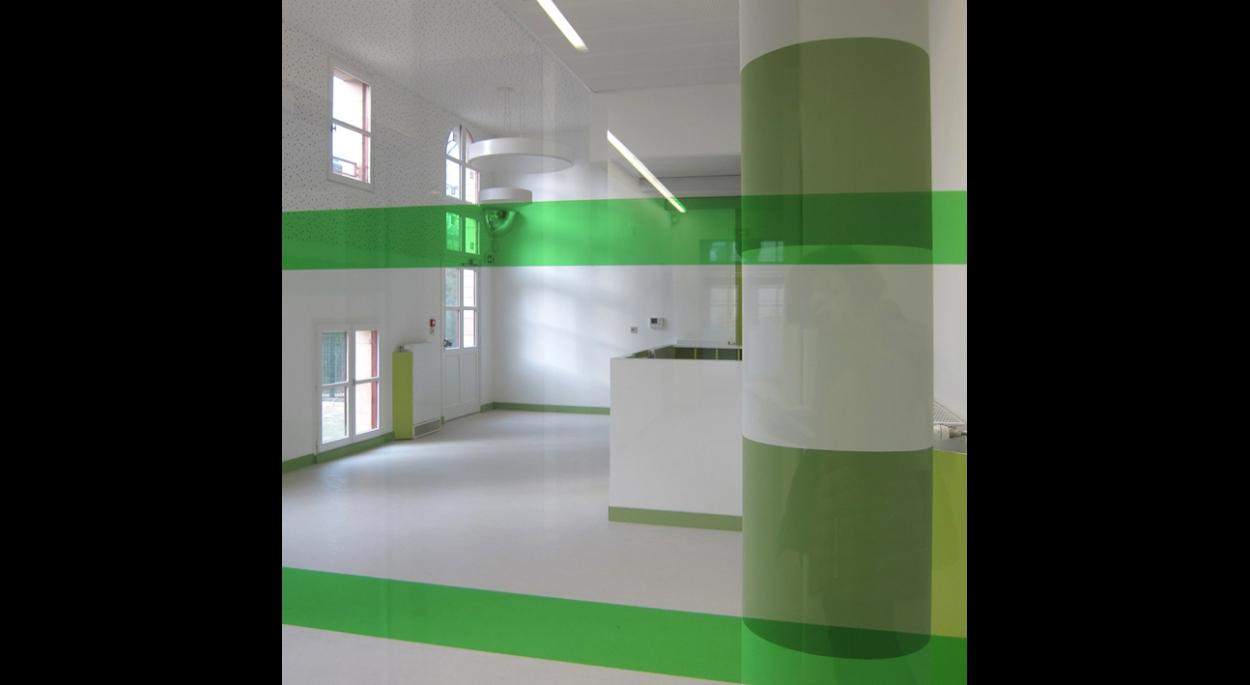 Salle de la halte garderie (salle d'activité) - *Photos: aHa