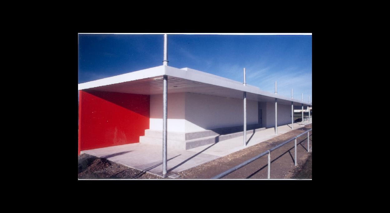 mairie de soudan 44 mention CAUE 2002 PHILIPPE LEBOURG ARCHITECTE ALP ARCHITECTURE