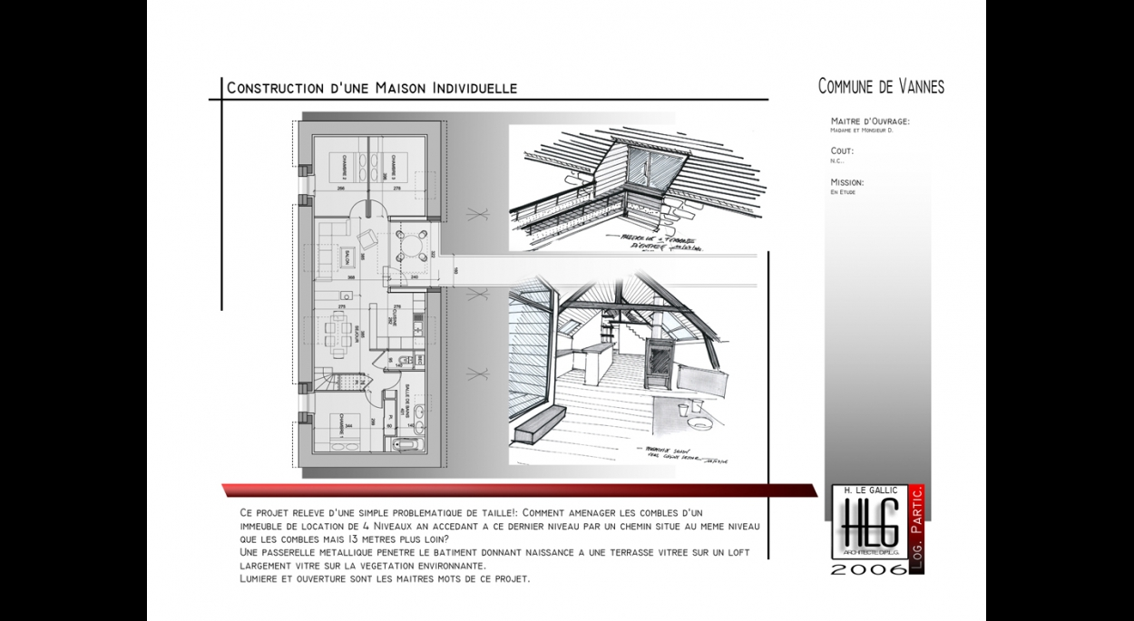 Renovation De Combles D Un Immeuble Muzillac H Le Gallic