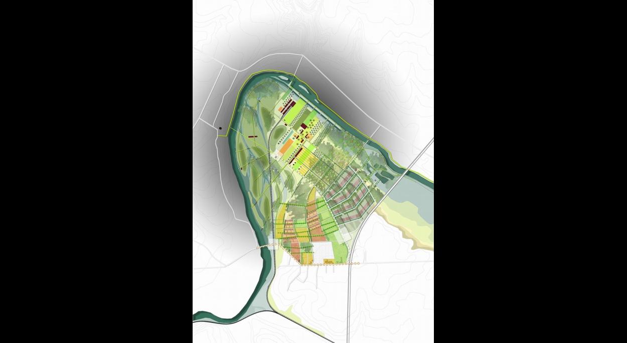 Site SNPE - 3 Chênes / Plan de référence (270 ha)