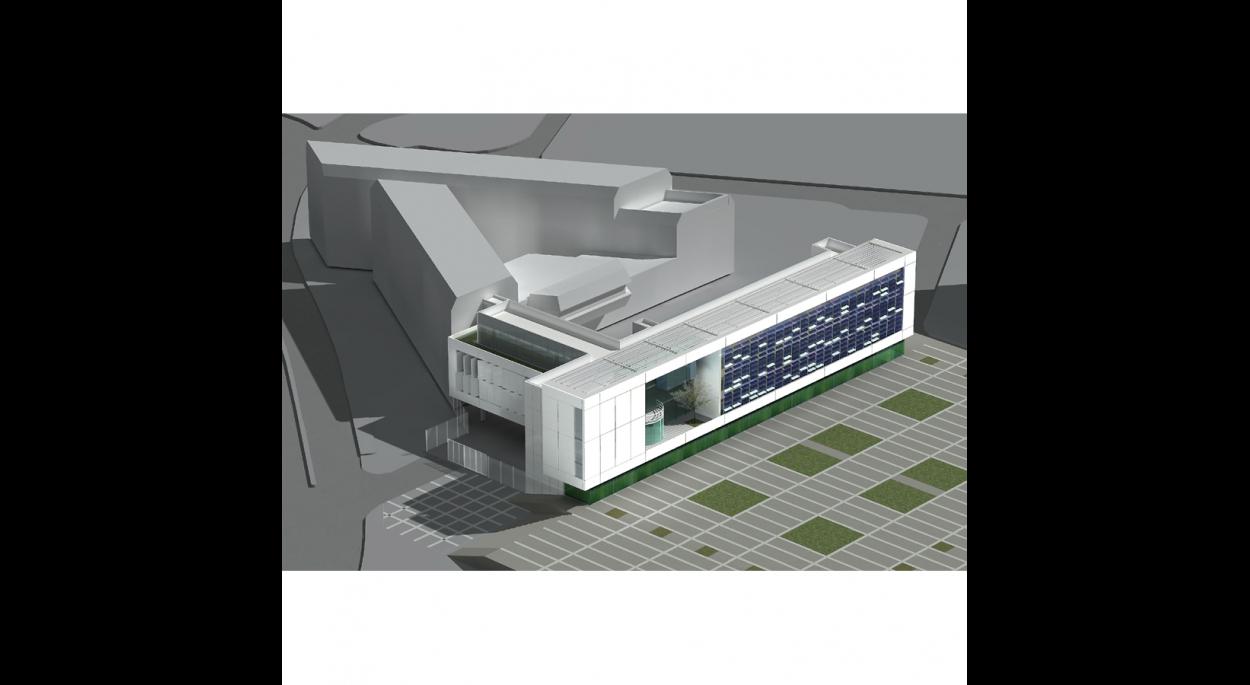 hôtel de police de metz | hellin - sebbag architectes associés