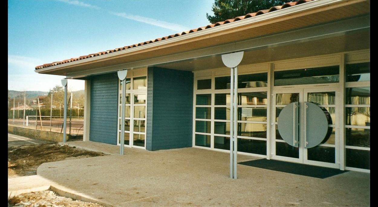 Détails de la façade principale (2003)