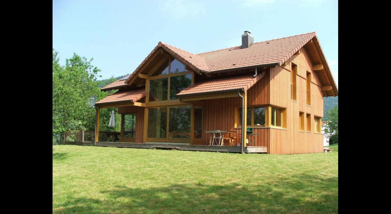maison ossature bois construction neuve