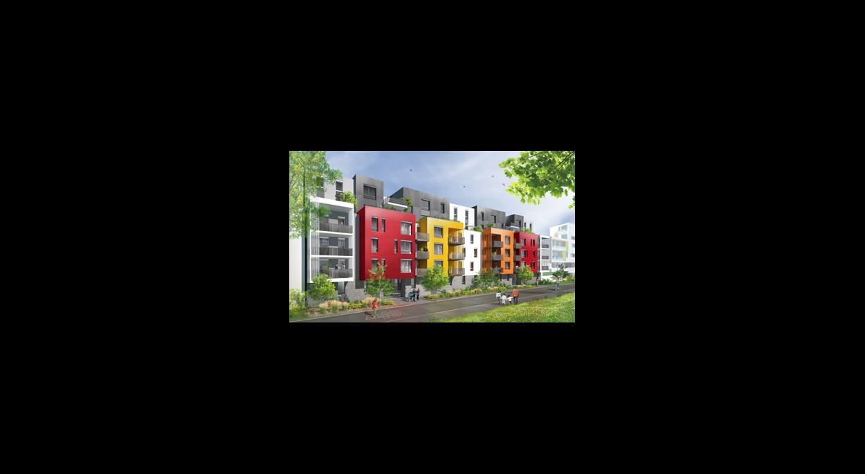ALPRIM // L'Initial / 44 logements / Quartier de la Brasserie / Cronenbourg / Strasbourg