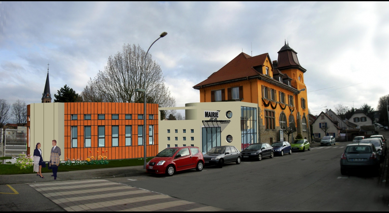Extension et mise aux normes de la Mairie de Pfastatt