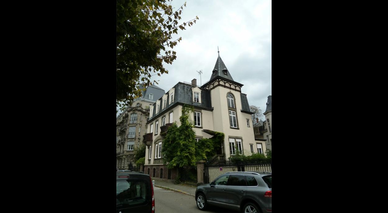 Réaménagement d'une maison en bureaux et logements à STRASBOURG (67)