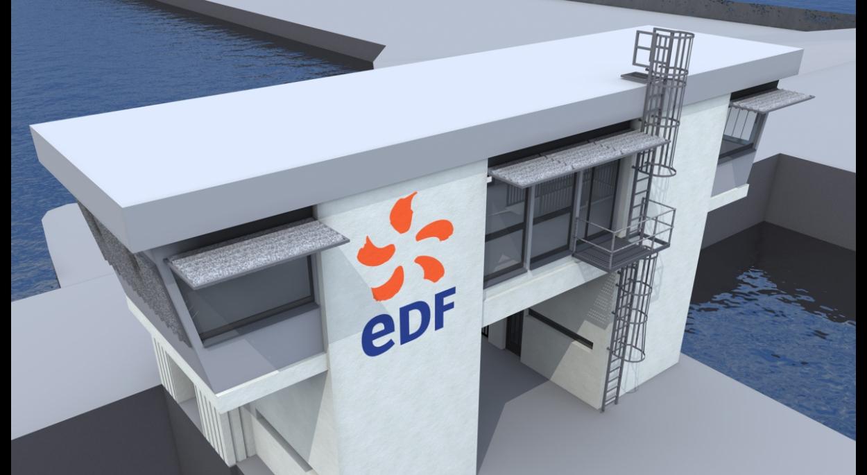 STRASBOURG - EDF - Rénovation poste de commande des écluses