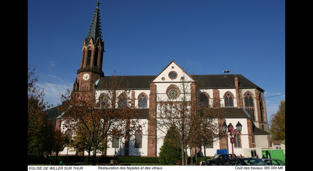 Eglise Willer sur Thur