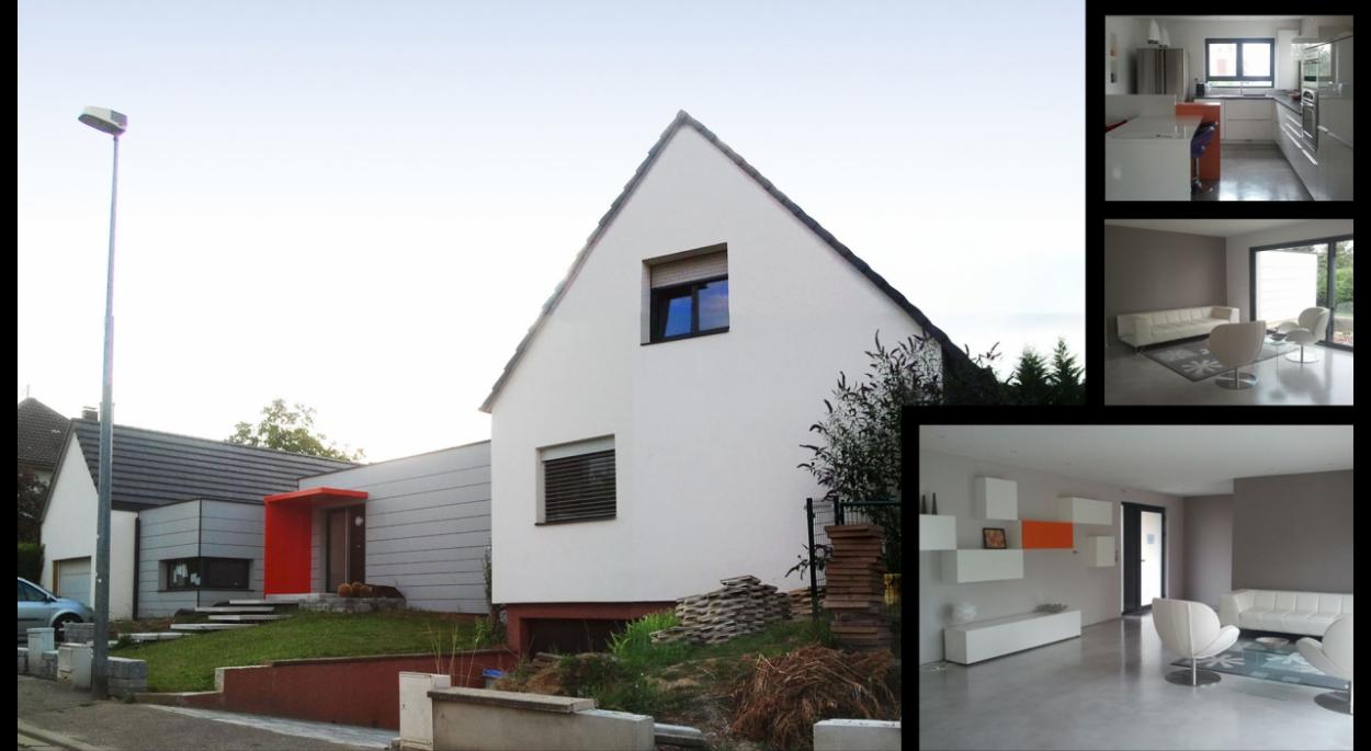 Extension et restructuration d'un pavillon