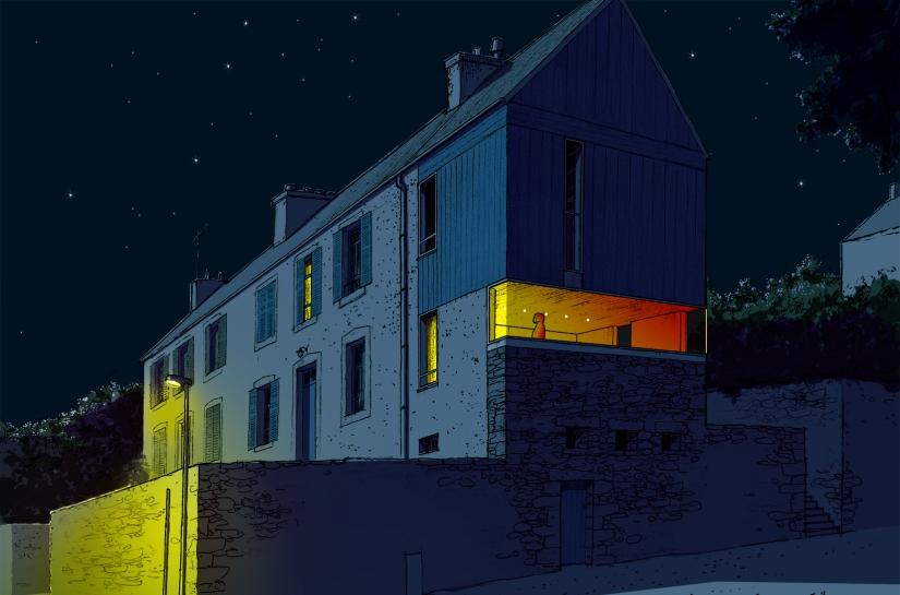 Rémi TURC architecte Château-Thierry Reims Épernay – extension maison, projet rue
