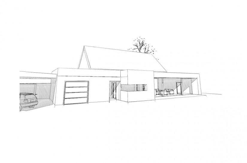 Maison bois à Crac'h, Atelier AWI  Adelgund WITTE architecte IESSC