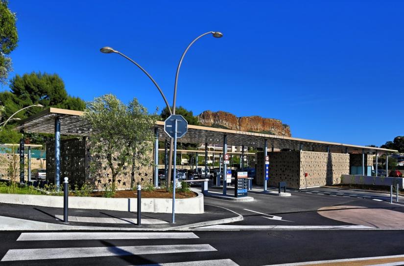 Christophe Caire Architecture Parking Les Mimosas Cassis