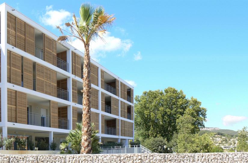 Les 24 logements du projet prennent place sur quatre niveaux