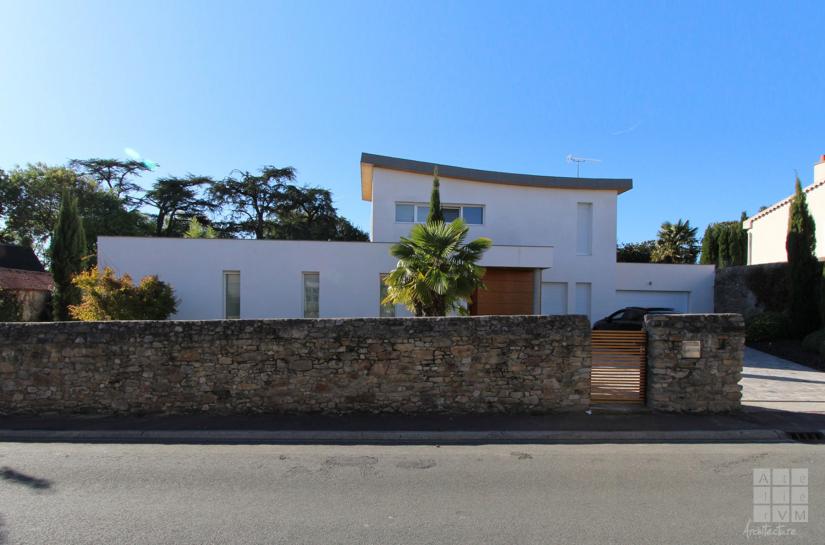 Maison contemporaine architecte nantes