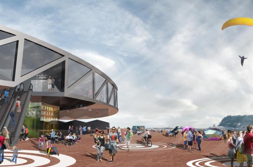 YTAU RECONSTRUCTION DE LA CITE DES SCIENCES A NAPLES