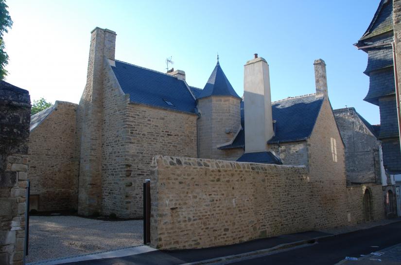 olivier samzun architecte, rénovation patrimoine, manoir de la Psalette à QUIMPER