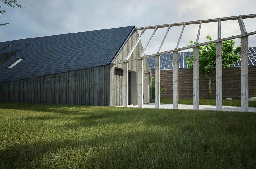 Maison passive en baie de Somme Fabrice Commerçon Architecte
