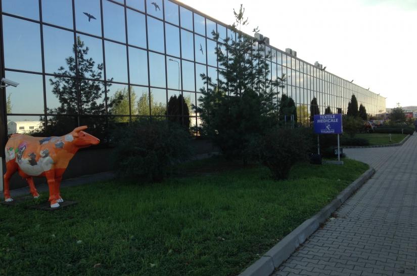 Textile Medicale construction d'une usine textile de 12 000m2 en Roumanie